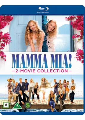 Mamma Mia! 2-Movie Collection (Blu-ray) (BD) - Klik her for at se billedet i stor størrelse.