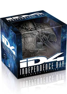 Independence Day (20th Anniversary Ultimate Edition) (Blu-ray) (BD) - Klik her for at se billedet i stor størrelse.