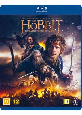 Hobbit, The: The Battle of the Five Armies (Blu-ray) (BD) - Klik her for at se billedet i stor størrelse.