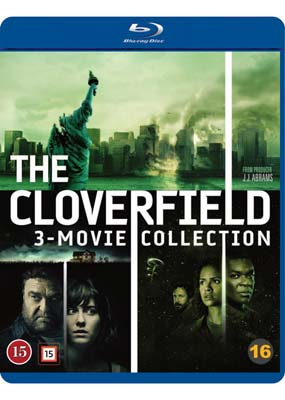 Cloverfield: 3-Movie   Collection (3-disc) (Blu-ray) (BD) - Klik her for at se billedet i stor størrelse.
