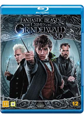 Fantastic Beasts: The Crimes of Grindelwald  (Blu-ray 3D) (BD) - Klik her for at se billedet i stor størrelse.