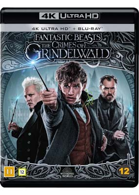 Fantastic Beasts: The Crimes of Grindelwald  (4K Ultra HD) (BD) - Klik her for at se billedet i stor størrelse.