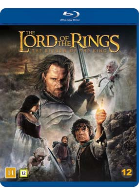 Lord of the Rings, The: The Return of the King - Theatrical Cut (Blu-ray) (BD) - Klik her for at se billedet i stor størrelse.
