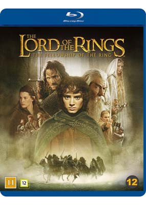 Lord of the Rings, The:  The Fellowship of the Ring - Theatrical Cut (Blu-ray) (BD) - Klik her for at se billedet i stor størrelse.