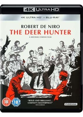 Deer Hunter, The: 40th Anniversary  (2-disc) (4K Ultra HD) (BD) - Klik her for at se billedet i stor størrelse.