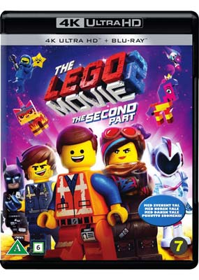 Lego Movie 2, The: The Second   Part (4K Ultra HD) (BD) - Klik her for at se billedet i stor størrelse.