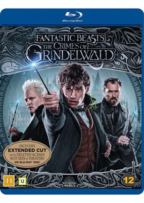Fantastic Beasts: The Crimes of Grindelwald - Extended Cut (Blu-ray) (BD) - Klik her for at se billedet i stor størrelse.