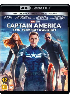 Captain America: The Winter Soldier (4K Ultra HD) (BD) - Klik her for at se billedet i stor størrelse.