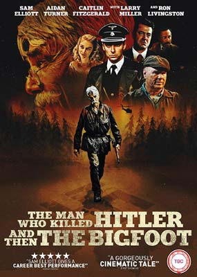 Man Who Killed Hitler and Then The Bigfoot, The  (DVD) - Klik her for at se billedet i stor størrelse.