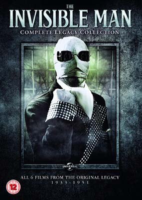 Invisible Man, The: Complete Legacy Collection (6 film) (3-disc) (DVD) - Klik her for at se billedet i stor størrelse.