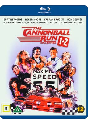 Cannonball Run 1+2 Collection, The (Blu-ray) (BD) - Klik her for at se billedet i stor størrelse.