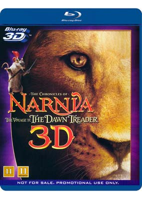 Chronicles of Narnia: Voyage of the Dawn     Treader (Blu-ray 3D) (BD) - Klik her for at se billedet i stor størrelse.