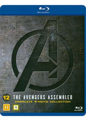 Avengers Assembled: Complete 4-Movie   Collection (Blu-ray) (BD) - Klik her for at se billedet i stor størrelse.