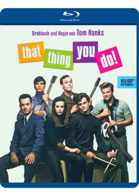 That Thing You Do! (tysk omslag) (Blu-ray) (BD) - Klik her for at se billedet i stor størrelse.