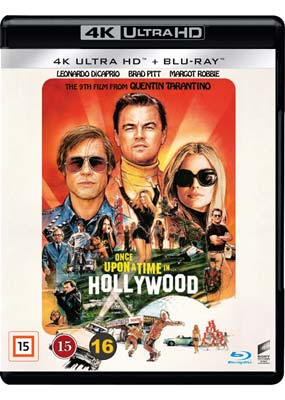 Once Upon a Time... in  Hollywood (4K UHD) (UHD) - Klik her for at se billedet i stor størrelse.