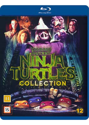 Teenage Mutant Ninja Turtles Movie   Collection (3-disc) (Blu-ray) (BD) - Klik her for at se billedet i stor størrelse.