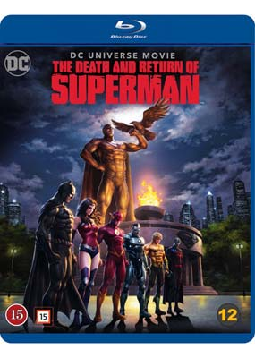 Death and Return of Superman, The (Blu-ray) (BD) - Klik her for at se billedet i stor størrelse.