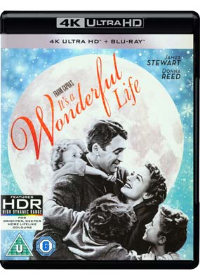 It's a Wonderful   Life (Remastered) (4K UHD) (UHD) - Klik her for at se billedet i stor størrelse.