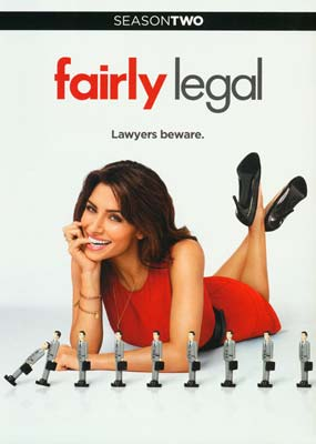Fairly Legal: Season 2 (3-disc) (DVD) - Klik her for at se billedet i stor størrelse.