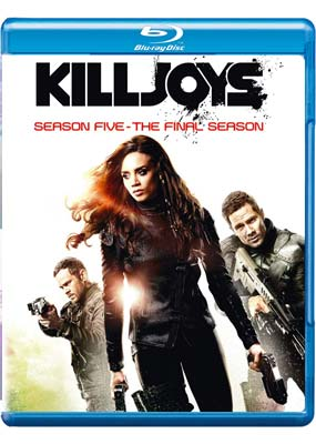 Killjoys: Season 5 - The Final Season (Blu-ray) (BD) - Klik her for at se billedet i stor størrelse.