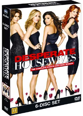 Desperate  Housewives: Season 8 - Final (6-disc) (DVD) - Klik her for at se billedet i stor størrelse.