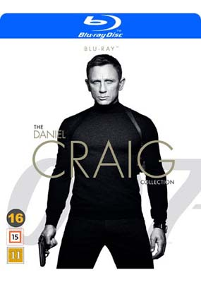 Daniel Craig Collection,   The (4 film) (Blu-ray) (BD) - Klik her for at se billedet i stor størrelse.