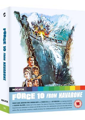 Force 10 from Navarone (Limited Edition 2-disc) (Blu-ray) (BD) - Klik her for at se billedet i stor størrelse.