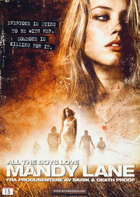 All the Boys Love Mandy Lane  (DVD) - Klik her for at se billedet i stor størrelse.