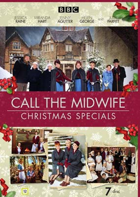 Call the Midwife:     Christmas Specials (7-disc) (DVD) - Klik her for at se billedet i stor størrelse.