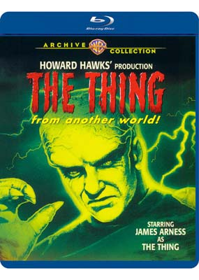 Thing from Another World,  The (Warner Archive) (Blu-ray) (BD) - Klik her for at se billedet i stor størrelse.