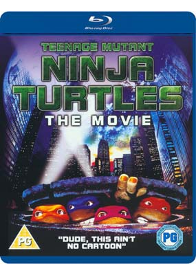 Teenage Mutant Ninja   Turtles: The Movie (Blu-ray) (BD) - Klik her for at se billedet i stor størrelse.