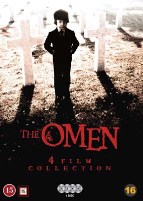 Omen, The: 4-Movie Collection  (DVD) - Klik her for at se billedet i stor størrelse.