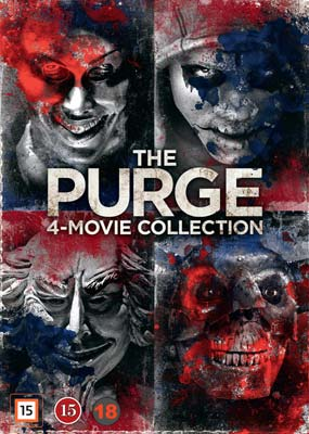 Purge, The: 4-Movie Collection  (DVD) - Klik her for at se billedet i stor størrelse.