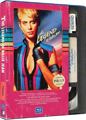 Legend of Billie Jean, The: Retro VHS Look (Blu-ray) (BD) - Klik her for at se billedet i stor størrelse.