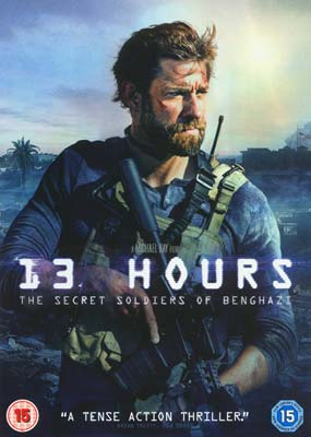 13 Hours: The Secret Soldiers of  Benghazi  (DVD) - Klik her for at se billedet i stor størrelse.