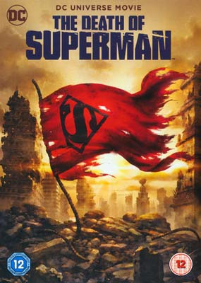 Death of Superman, The  (DVD) - Klik her for at se billedet i stor størrelse.