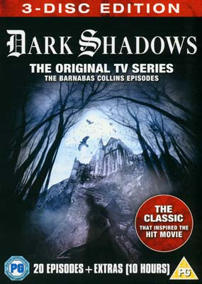 Dark Shadows: The Barnabas Collins Episodes (3-disc) (DVD) - Klik her for at se billedet i stor størrelse.