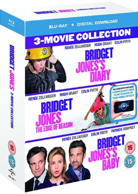 Bridget Jones: 3-Film Collection (Blu-ray) (BD) - Klik her for at se billedet i stor størrelse.