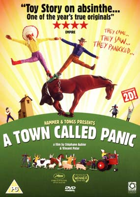 Town Called Panic, A (The Movie)  (DVD) - Klik her for at se billedet i stor størrelse.