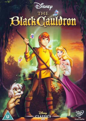 Black Cauldron, The: 25th  Anniversary  (DVD) - Klik her for at se billedet i stor størrelse.