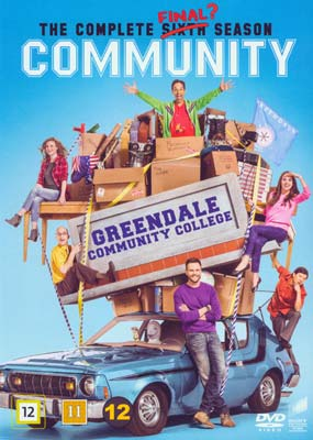 Community: Season   6 - The Final Season (2-disc) (DVD) - Klik her for at se billedet i stor størrelse.
