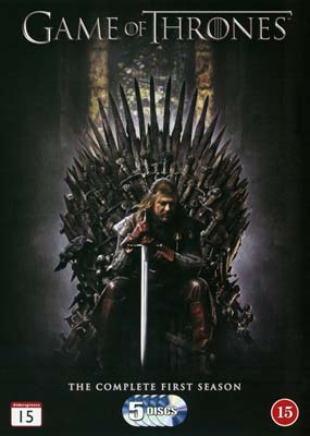 Game of Thrones: Season     1 (5-disc) (DVD) - Klik her for at se billedet i stor størrelse.