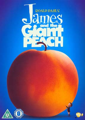 James and the Giant Peach  (DVD) - Klik her for at se billedet i stor størrelse.