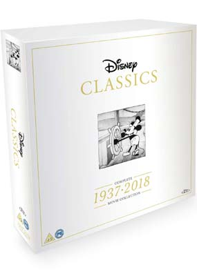 Disney Classics: Complete 1937-2018 Movie Collection (55 film) (Blu-ray) (BD) - Klik her for at se billedet i stor størrelse.