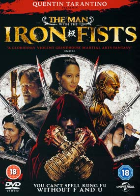 Man with the Iron Fists,    The  (DVD) - Klik her for at se billedet i stor størrelse.