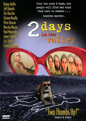 2 Days in the Valley  (DVD) - Klik her for at se billedet i stor størrelse.