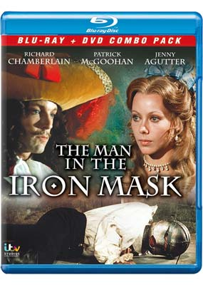 Man in the Iron Mask, The (Richard Chamberlain) (Blu-ray & DVD) (BD) - Klik her for at se billedet i stor størrelse.