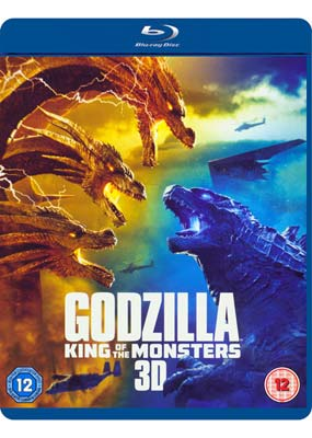 Godzilla: King of the Monsters (Blu-ray 3D) (BD) - Klik her for at se billedet i stor størrelse.