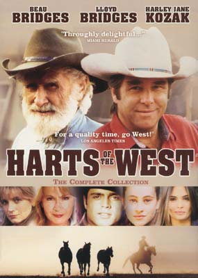 Harts of the West: The Complete Collection (3-disc) (DVD) - Klik her for at se billedet i stor størrelse.