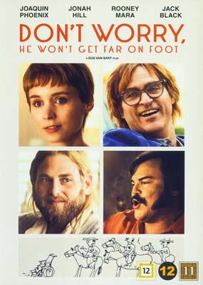 Don't Worry, He Won't Get Far on Foot  (DVD) - Klik her for at se billedet i stor størrelse.